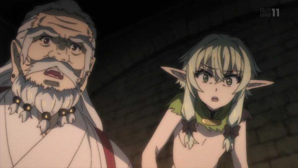 妖精弓手, ゴブリンスレイヤー, エルフ エルフ姉さん、エロさが全く感じられない【ゴブリンスレイヤー】