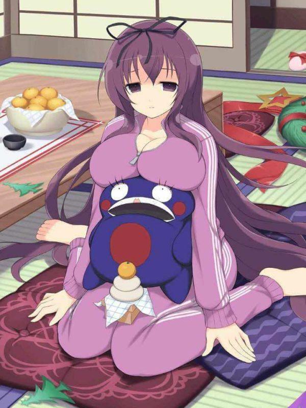 紫, 爆乳, おっぱい 真の爆乳、紫ちゃんの100cm超えおっぱいエロすぎる【画像閃乱カグラ】