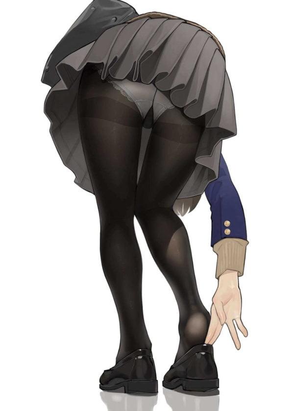 長さ, 女の子, スカート 女の子のスカートてどんどん長くなってるの?