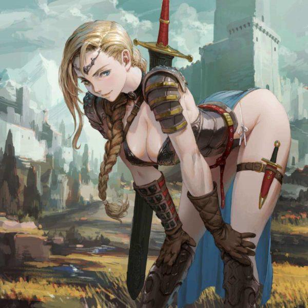 ビキニアーマー エロい効果しかなさそうだけど、ビキニアーマー着て戦う女の子