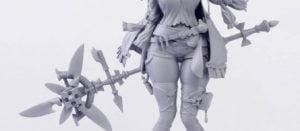 太もも, 原型, ライザ ライザちゃんのフィギュア原型の全体が公開!ボリューミーな太もも最高かよ