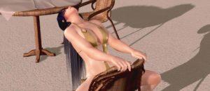 逆に椅子に座って、股間無防備に開いてる女の子エロくない?