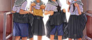 JKって制服がエロいのか、その子そのものがエロいのか。