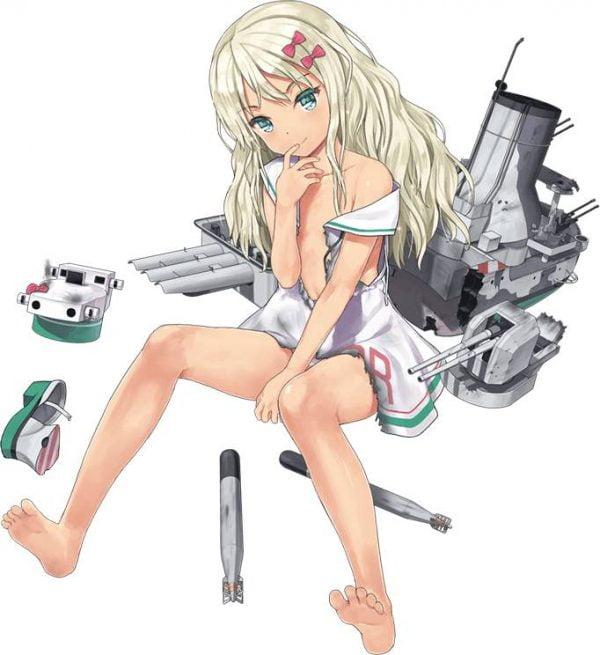 艦隊これくしょん, 生意気, ドスケベ, グレカーレ, かわいい グレカーレちゃんの生意気ドスケベ感最高かわいい!【艦隊これくしょん】