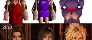 【FF7リメイク】おめかしエアリスでもティファでもなく、女装クラウド選ぶ理由ちょっとは分かってきたんじゃない?