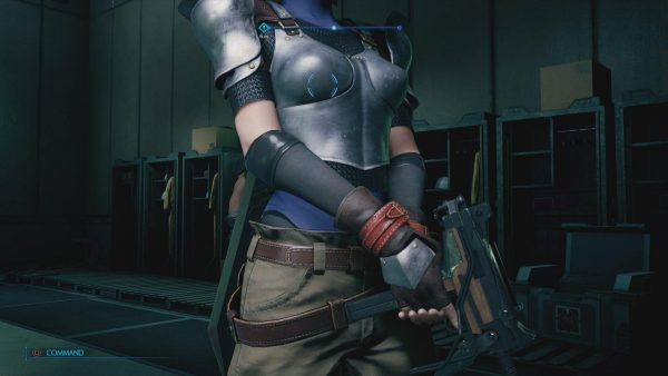 防具, ジェシー, おっぱい, FF7リメイク FF7リメイク体験版で、本編思い出しながらジェシーのおっぱい防具見てる。