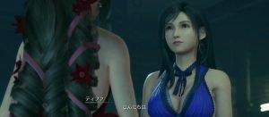 【FF7R】それでみんなのドレス姿結構いい感じだと思った?