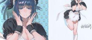 【KOF】レオナのような子にメイド服着せ、あざといポーズさせるの天才だと思う。