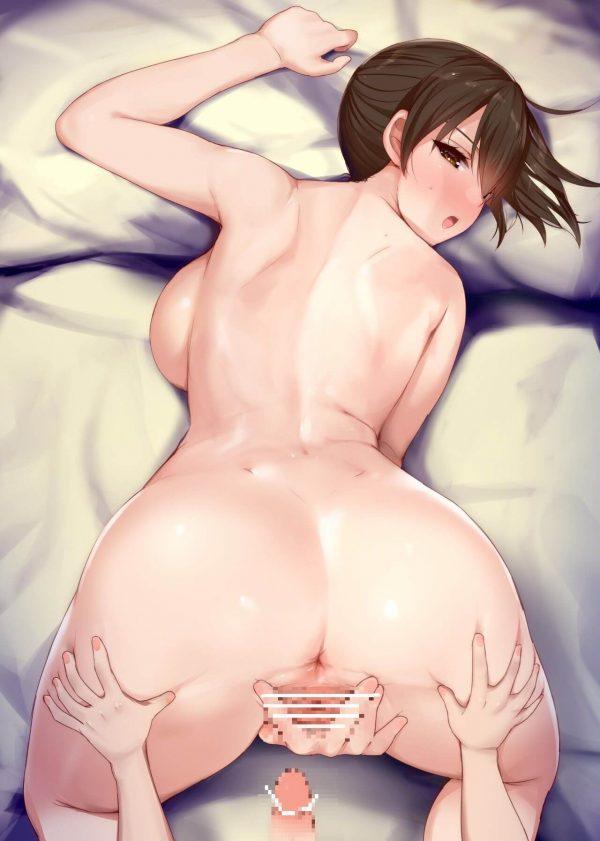 艦これ, 挿入, 加賀, セックス 加賀さんの挿入穴選び。きっとセックスしたがってる。【艦これ】
