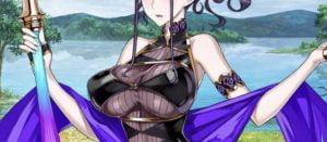 紫式部, 水着, おっぱい, FGO 【FGO】紫式部さんの水着は絶対おっぱいに目が行く。