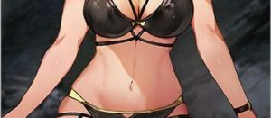 黒水着ライザちゃんの表情もセットでエロすぎる。