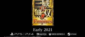 無双8エンパが2021年に発売決定!PS5版あり、オープンワールド廃止。