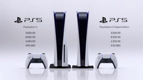 本体, 日本, 値段, PS5 PS5本体お値段は499.99ドルと399.99ドル。日本は11月12日に発売決定!