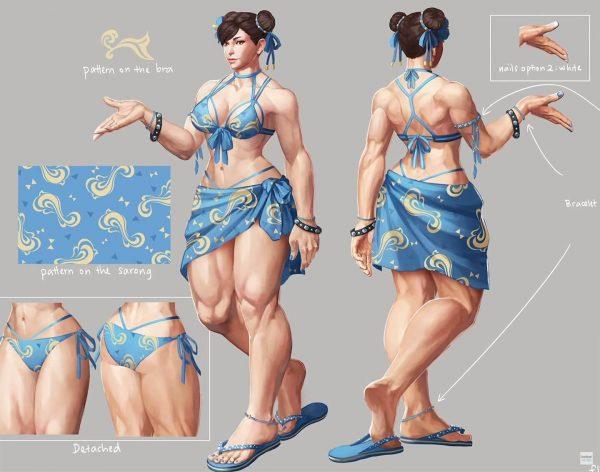 春麗, 体型, ストリートファイター 【ストリートファイター】春麗の体型って特定のお客様には需要があると思う。