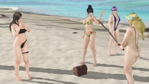 覚醒, DOAXVV 【DOAXVV】覚醒が進んでくるとどんどんドスケベ島になってくる。