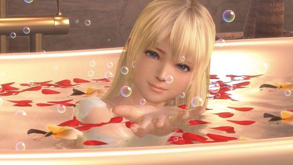お風呂, DOAXVV 【DOAXVV】いいお風呂の日らしいから泡水着でも眺めるか。