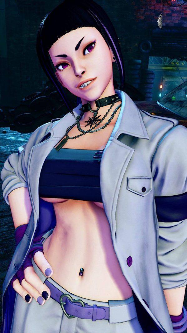 ナース服, ストリートファイター5, ストV, ジュリ 【ストV】ジュリちゃんのナース服ちょっとキツいけどかわいいと思う。