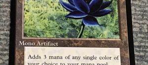 【MTG】ブラックロータス という超高額カード。